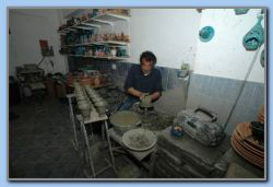 The Potter in work