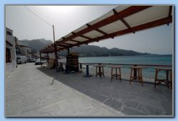 Beach restaurant in east end of Tarsanas beach