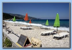 Beach taverna in Kedros