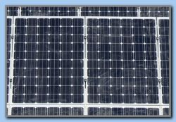 Solar panels near Kokkari