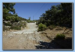 'Road' east of Mt. Ambelos