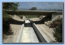 New bridge & water channel