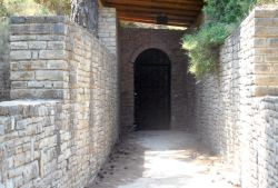 Eupalinos Tunnel North