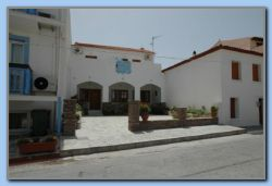 20 May 2008. TARSANAS BEACH front of old building