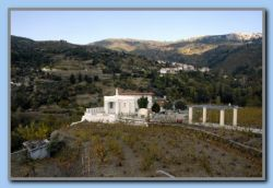 A small and Nice church with wineyard south of Mesogio and Pandroso