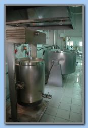 Producing cream of rice and cheese