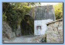 the aquaduct (water for watermill), and